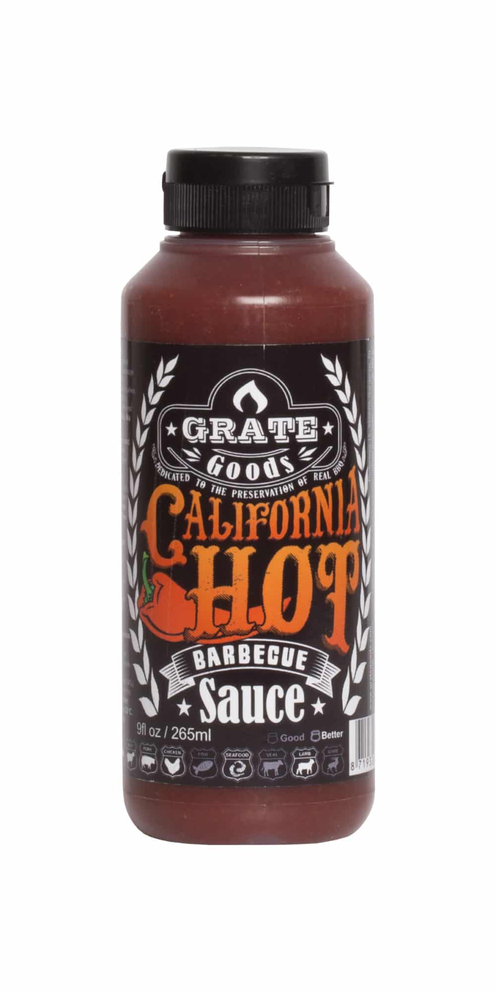 California hot bbq sauce