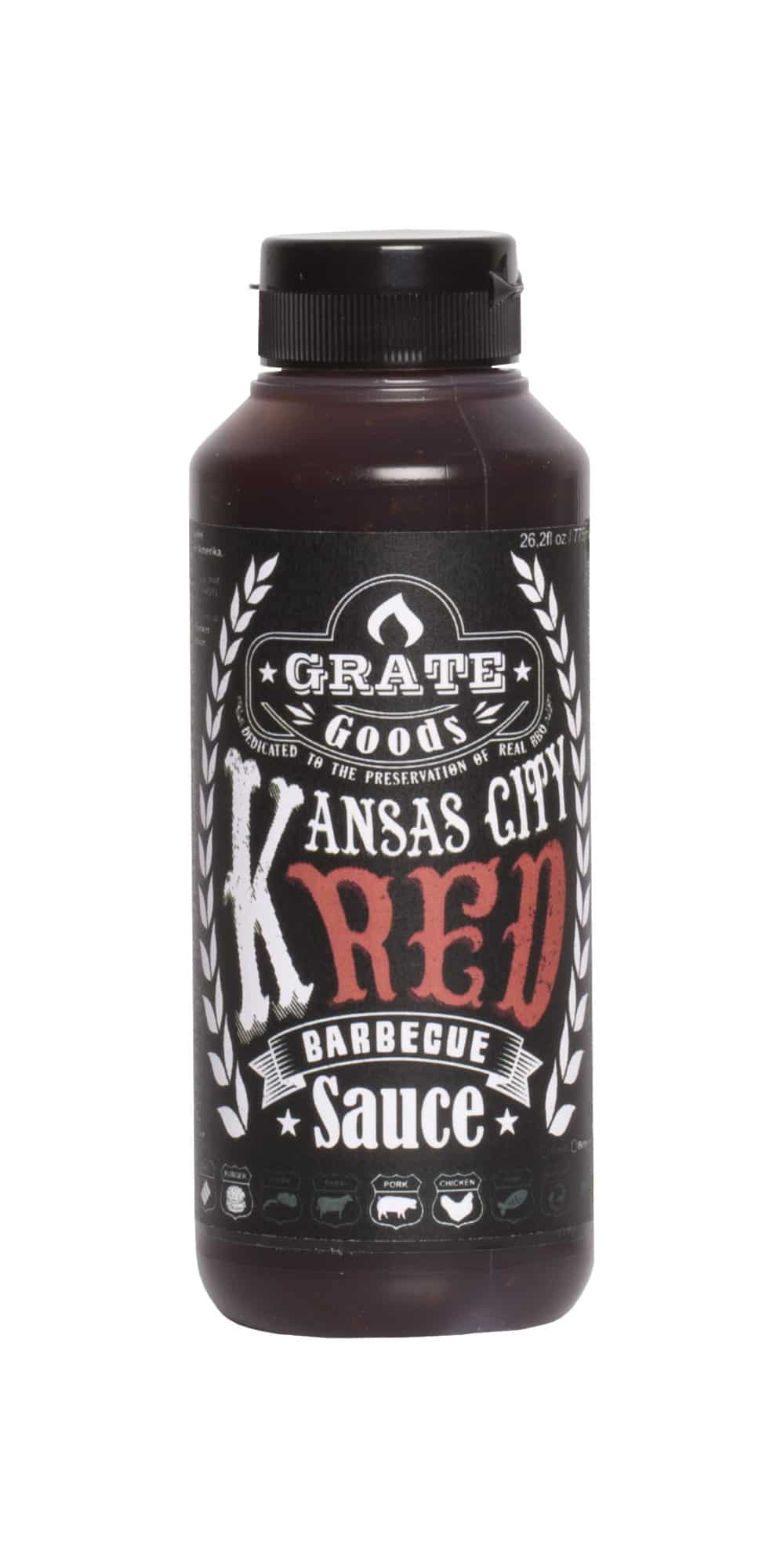 Kansas city red barbecue sauce