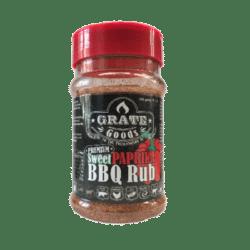 Sweet paprika BBQ rub