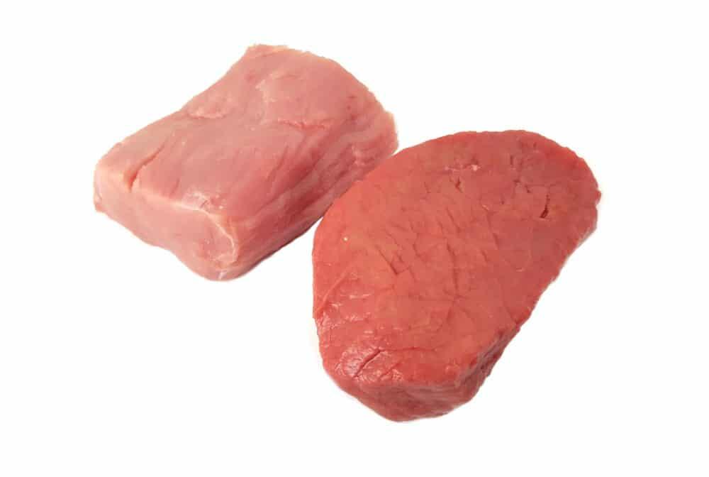 Duo biefstuk varkenshaas
